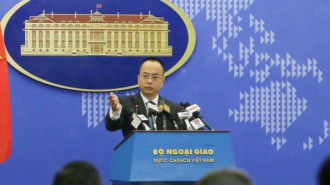 Phó Phát ngôn Bộ Ngoại giao Đoàn Khắc Việt. Ảnh: Bộ Ngoại giao.