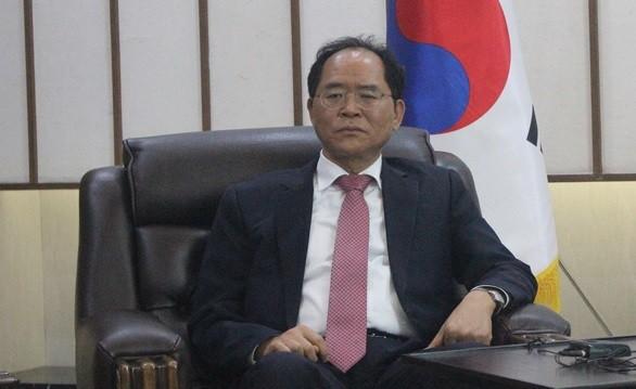 Đại sứ Hàn Quốc tại Việt Nam Park Noh Wan - Ảnh: T.ĐIỂU