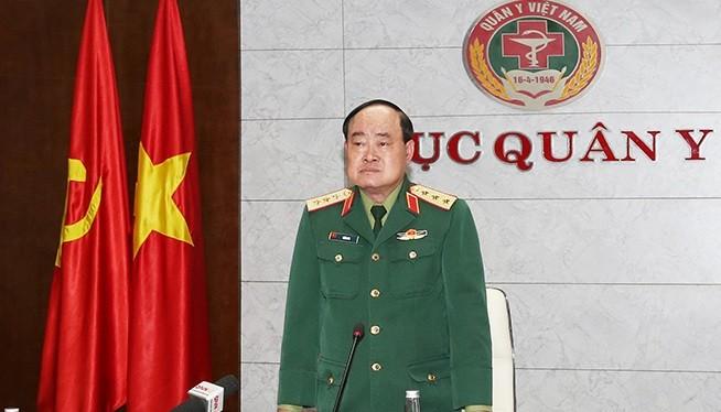 Thượng tướng Trần Đơn chủ trì hội nghị. Ảnh: BQP.