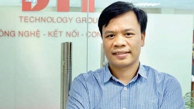 ông Nguyễn Thế Trung - Tổng giám đốc Công ty cổ phần Công nghệ DTT. Ảnh: FB nhân vật.