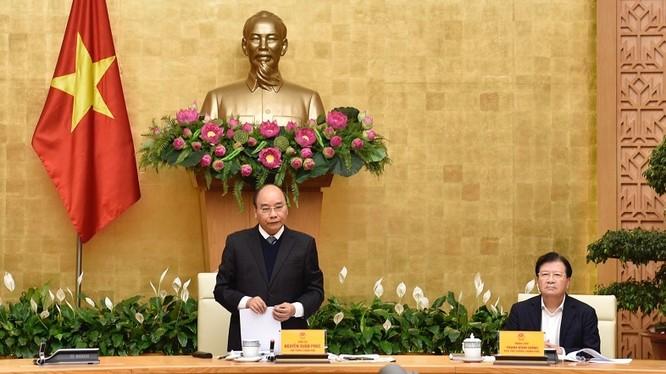 Thủ tướng phát biểu tại Hội nghị. Ảnh: VPCP.