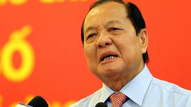 Cựu bí thư Thành ủy TP.HCM Lê Thanh Hải. Ảnh: VGP.