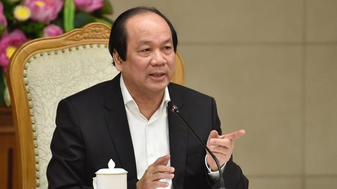 Ông Mai Tiến Dũng - Bộ trưởng, Chủ nhiệm Văn phòng Chính phủ, Người Phát ngôn của Chính phủ. Ảnh: VPCP.