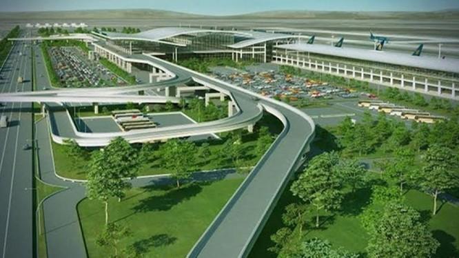 Để xây dựng dự án sân bay Long Thành, Đồng Nai đã thu hồi khoảng 5.000 ha đất. Ảnh: Bản vẽ thiết kế sân bay Long Thành - Sở TNMT tỉnh Đồng Nai.