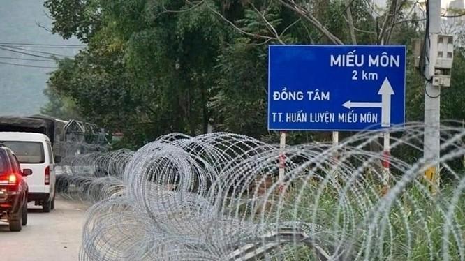 Đồng Tâm là 1 trong 4 vấn đề nổi cộm nhất mà Thủ tướng yêu cầu Hà Nội nghiêm túc xử lý. Ảnh: TTXVN.