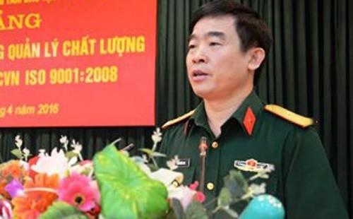 Thiếu tướng Bùi Quốc Oai được bổ nhiệm giữ chức Chính ủy Cảnh sát biển Việt Nam - Ảnh: QĐND