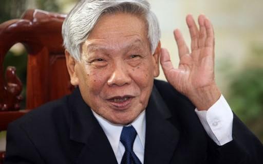 Nguyên Tổng Bí thư Lê Khả Phiêu.