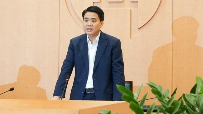 Chủ tịch UBND TP.Hà Nội Nguyễn Đức Chung vừa bị Thủ tướng ký quyết định tạm đình chỉ công tác.