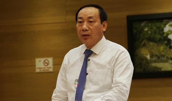 Ông Nguyễn Hồng Trường, cựu Thứ trưởng Bộ Giao thông Vận tải. Ảnh: mt.gov.vn