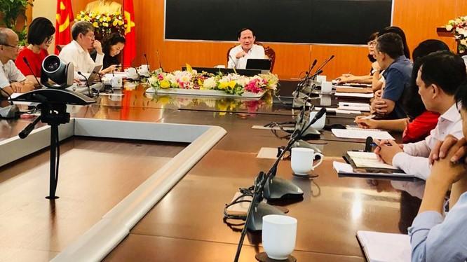 Thứ trưởng Phạm Anh Tuấn phát biểu kết luận Hội nghị. Ảnh: Bình Minh.
