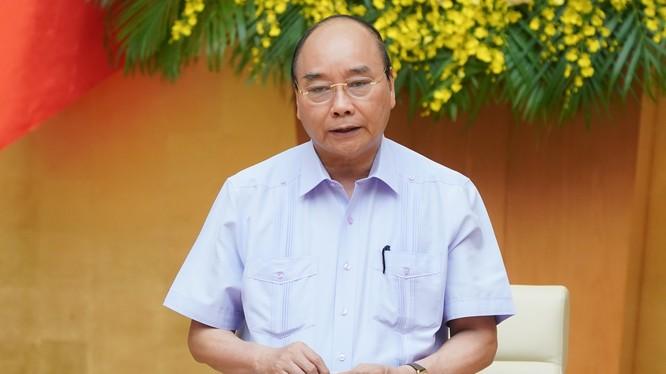 Thủ tướng phát biểu tại Hội nghị. Ảnh: VGP