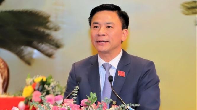 Ông Đỗ Trọng Hưng - tân Bí thư Tỉnh uỷ Thanh Hoá. Ảnh: UBND tỉnh Thanh Hoá.