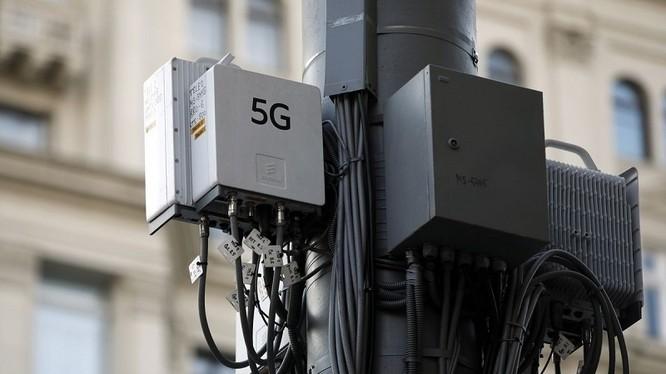 Trạm sóng di động 5G. Ảnh Getty Images.