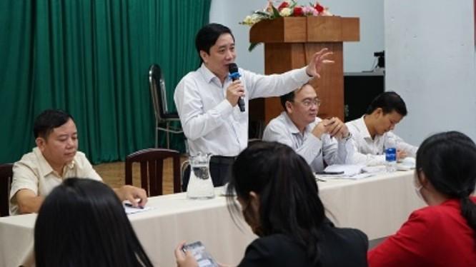 Ông Lê Minh Hải – Phó Trưởng ban Ban Quản lý An toàn thực phẩm.