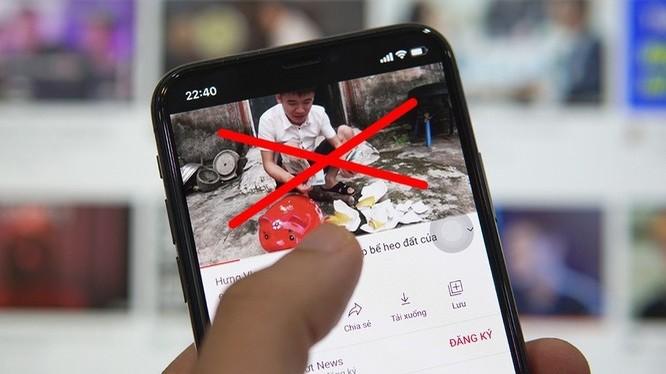 """Hàng loạt nội dung xấu độc, nhảm nhí đã bị """"xóa sổ"""" trên Facebook, YouTube."""