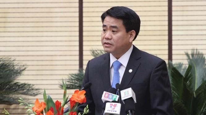 Chủ tịch UBND TP. Hà Nội Nguyễn Đức Chung. Ảnh: UBND TP. Hà Nội