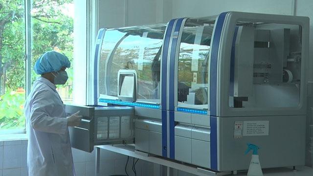 Hệ thống xét nghiệm Real-time PCR tự động. Ảnh minh hoạ: Bộ Y tế.