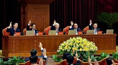Tổng Bí thư, Chủ tịch nước Nguyễn Phú Trọng cho biết, Bộ Chính trị đã xem xét cẩn trọng cơ sở pháp lý và cơ sở thực tiễn của việc kiện toàn các chức danh lãnh đạo các cơ quan Nhà nước ngay sau Đại hội toàn quốc lần thứ XIII của Đảng.