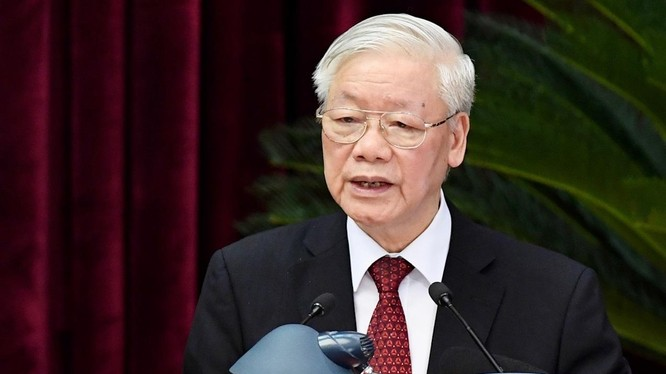 Tổng Bí thư, Chủ tịch nước Nguyễn Phú Trọng: Trung ương đã bỏ phiếu giới thiệu nhân sự ứng cử các chức danh Chủ tịch nước, Thủ tướng Chính phủ, Chủ tịch Quốc hội là những chức danh lãnh đạo chủ chốt của Nhà nước ta với số phiếu tập trung cao.