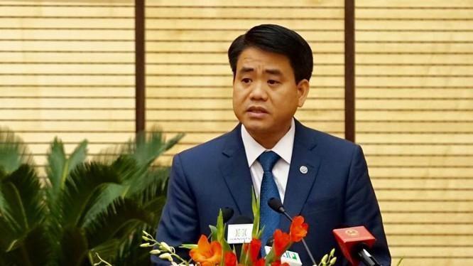 Cựu Chủ tịch UBND TP Hà Nội Nguyễn Đức Chung