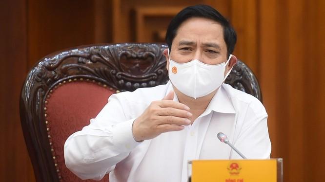 Thủ tướng Phạm Minh Chính chủ trì cuộc họp.