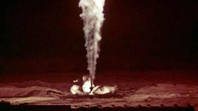 """Ảnh chụp """"bó đuốc"""" ở Urta-Bulak, xảy ra ngày 1/12/1963."""