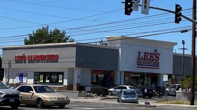 Một cửa hàng của thương hiệu Lee's Sandwiches tại California