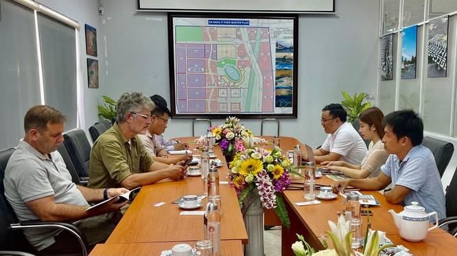 Lãnh đạo XIXO làm việc với Khu CNC Đà Nẵng trong khuôn khổ hợp tác xúc tiến đầu tư và số hoá cho Khu CNC Đà Nẵng.