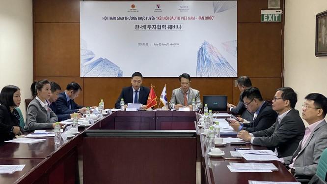 Việc kết nối đầu tư Việt Nam - Hàn Quốc đã tạo kênh trao đổi, kết nối hợp tác đầu tư, thương mại giữa các doanh nghiệp của hai nước.