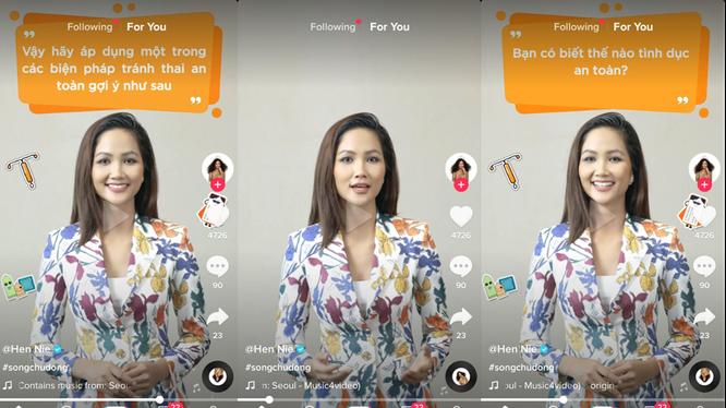 Hoa hậu H'Hen Niê hướng dẫn cách tham gia cuộc thi #SongChuDong