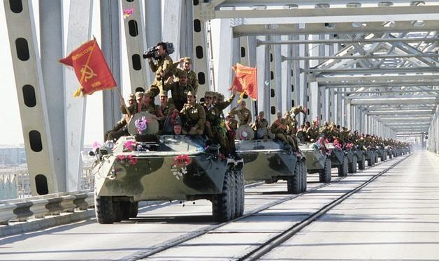 Quân đội Liên Xô rút lui khỏi Afghanistan vào năm 1989 (Ảnh: Tư liệu)