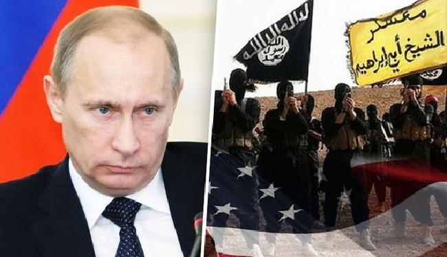 Nga đã chính thức buộc tội Mỹ hợp tác với IS (ảnh: Express)