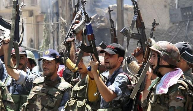 Hình ảnh quân đội Syria (ảnh: Strategic Culture Foundation)