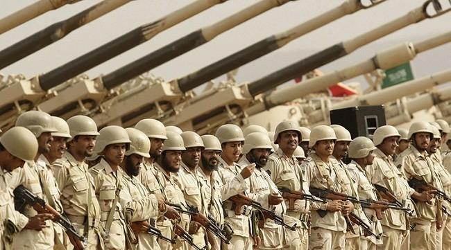 Hình ảnh binh sĩ quân đội Ả Rập Xê-út (ảnh: New Eastern Outlook)
