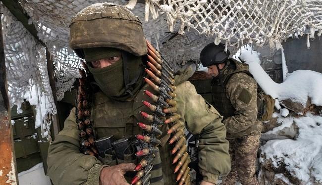 Hình ảnh binh lính thuộc Lực lượng Vũ trang Ukraine (ảnh: National Interest)