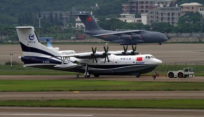 Hình ảnh thủy phi cơ lớn nhất thế giới AG600 của Trung Quốc (ảnh: National Interest)