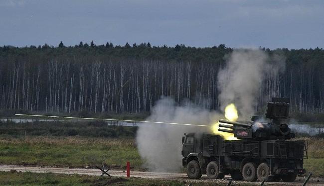 Hệ thống phòng không Pantsir-S1 của Nga. Ảnh: RIA