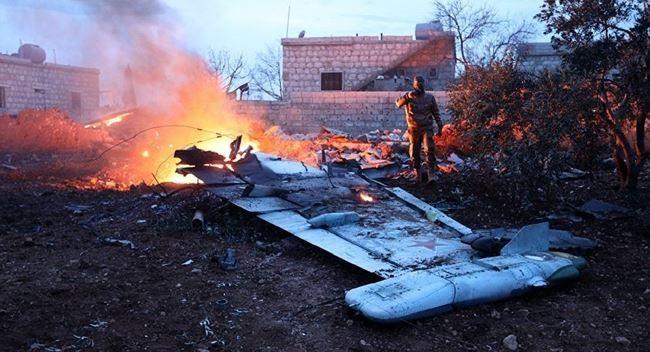 Cường kích Su-25 của Nga bị bắn rơi hôm 3/2. Ảnh: CNN