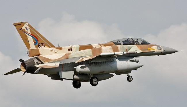 Chiến đấu cơ F-16I Sufa của Không quân Israel. Ảnh: Airplane-Pictures.net