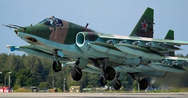 Cường kích Su-25 của Nga. Ảnh: fair.ru