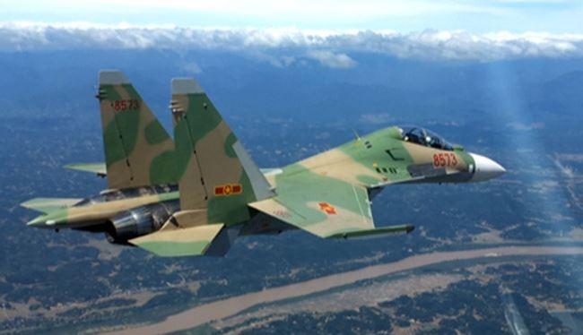 Không quân Việt Nam trang bị Su-30MK2 hiện đại của Nga. Ảnh: sina