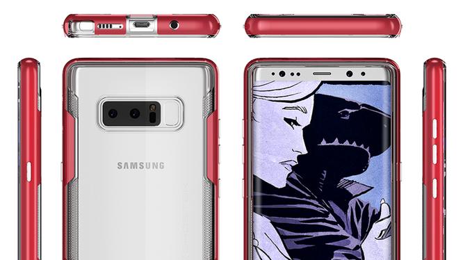Galaxy Note 8 từ mọi góc cạnh