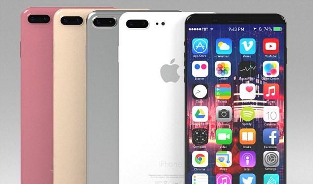 Thông tin rò rỉ cho biết iPhone 9 sẽ có màn hình 6,46 inch để cạnh tranh với dòng Note của Samsung (Ảnh: Dailymail)
