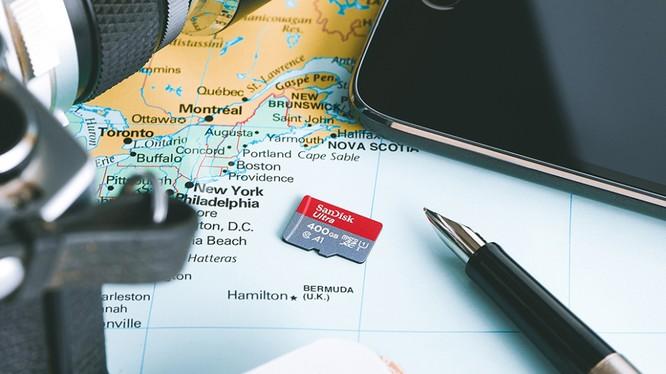SanDisk vừa ra mắt thẻ nhớ microSD mới dung lượng 400GB (Ảnh: BRG)
