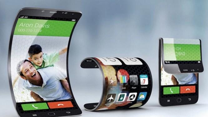 Smartphone uốn gập sẽ trở thành xu thế của tương lai? (ảnh: BGR)