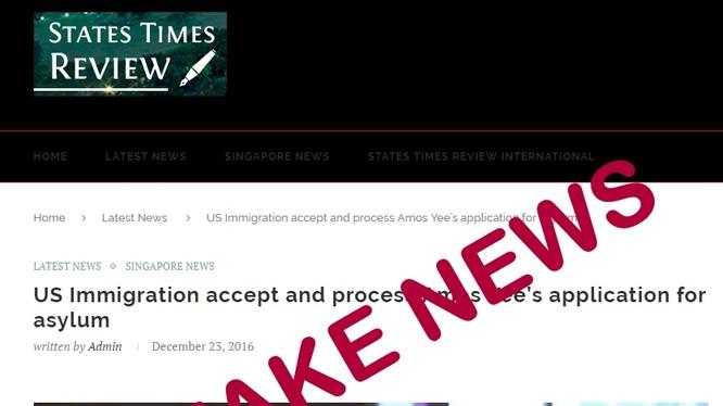 Chính phủ Singapore cho rằng tin tức giả mạo đã tạo ra những thách thức thực sự nghiêm trọng. (Ảnh: ZDnet)