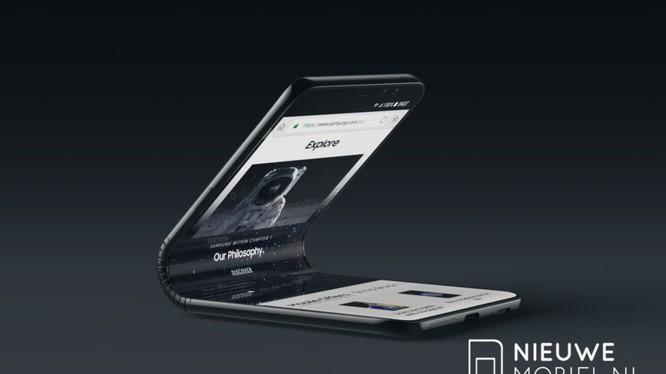 Mặc dù chưa xác nhận gì về tên gọi, song nhiều thông itn cho biết smartphone có thể gập lại của Samsung sẽ là Galaxy F (Ảnh: BGR)