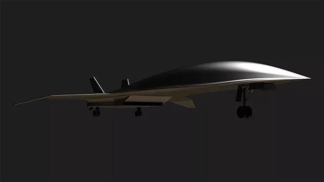 Máy bay siêu thanh của Hermeus Corporation có thể di chuyển từ New York tới London chỉ trong vòng 90 phút (Ảnh: CNN)