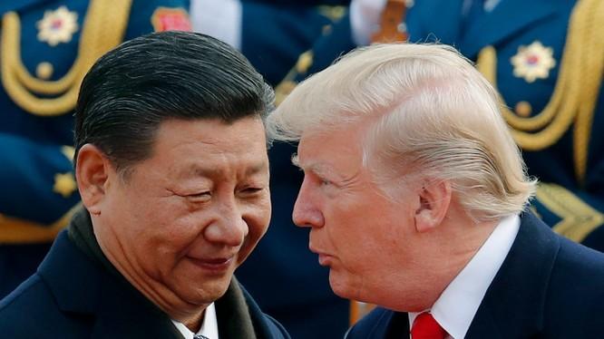 Chủ tịch Trung Quốc Tập Cận Bình và Tổng thống Mỹ Donald Trump (Ảnh: AP)