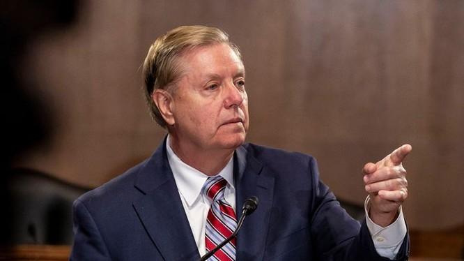 Thượng nghị sĩ Lindsey Graham cho rằng đã đến lúc phải kiềm chế chính sách Trung Đông của chính quyền Tổng thống Trump (Ảnh: Getty)
